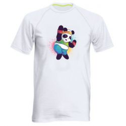 Чоловіча спортивна футболка Zumba Panda