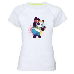 Жіноча спортивна футболка Zumba Panda