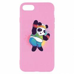 Чохол для iPhone 7 Zumba Panda