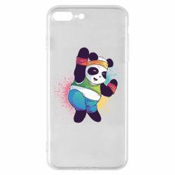 Чохол для iPhone 7 Plus Zumba Panda