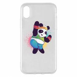 Чохол для iPhone X/Xs Zumba Panda