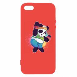 Чохол для iphone 5/5S/SE Zumba Panda