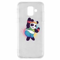 Чохол для Samsung A6 2018 Zumba Panda