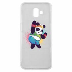 Чохол для Samsung J6 Plus 2018 Zumba Panda