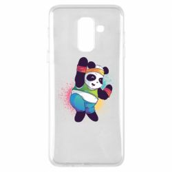 Чохол для Samsung A6+ 2018 Zumba Panda
