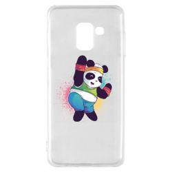 Чохол для Samsung A8 2018 Zumba Panda