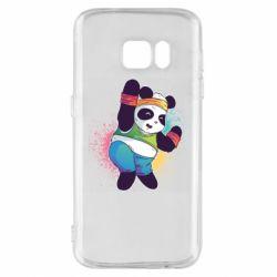 Чохол для Samsung S7 Zumba Panda