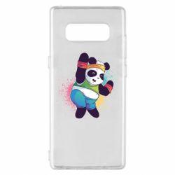 Чохол для Samsung Note 8 Zumba Panda
