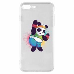Чохол для iPhone 8 Plus Zumba Panda