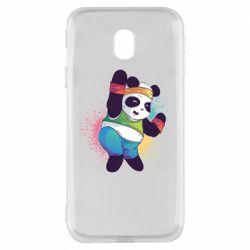 Чохол для Samsung J3 2017 Zumba Panda