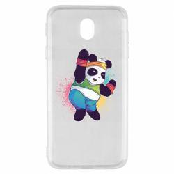 Чохол для Samsung J7 2017 Zumba Panda
