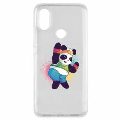 Чохол для Xiaomi Mi A2 Zumba Panda