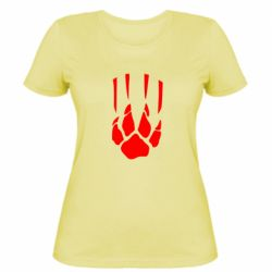 Жіноча футболка Звірячий мисливець