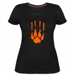 Жіноча стрейчева футболка Звірячий мисливець