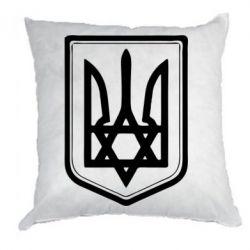 Подушка Звезда Давида+герб - FatLine