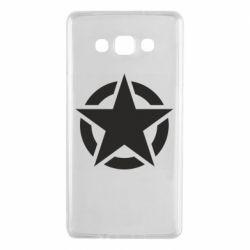 Чохол для Samsung A7 2015 Зірка Капітана Америки