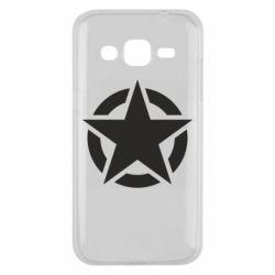 Чохол для Samsung J2 2015 Зірка Капітана Америки