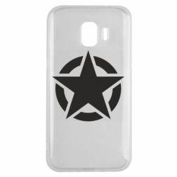 Чохол для Samsung J2 2018 Зірка Капітана Америки