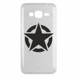 Чохол для Samsung J3 2016 Зірка Капітана Америки