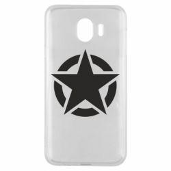 Чохол для Samsung J4 Зірка Капітана Америки