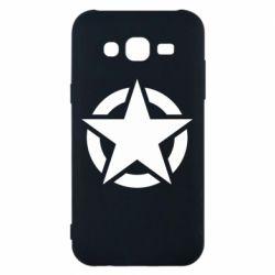 Чохол для Samsung J5 2015 Зірка Капітана Америки