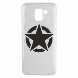 Чохол для Samsung J6 Зірка Капітана Америки