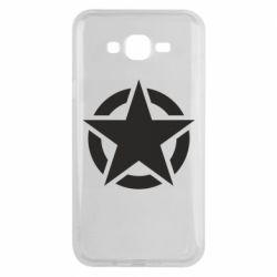 Чохол для Samsung J7 2015 Зірка Капітана Америки