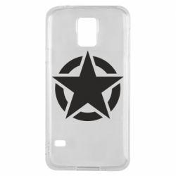 Чохол для Samsung S5 Зірка Капітана Америки