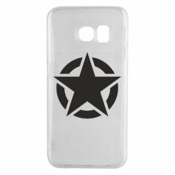 Чохол для Samsung S6 EDGE Зірка Капітана Америки