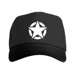 Кепка-тракер Зірка Капітана Америки