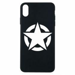 Чохол для iPhone Xs Max Зірка Капітана Америки