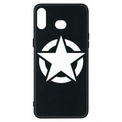 Чохол для Samsung A6s Зірка Капітана Америки