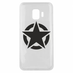 Чохол для Samsung J2 Core Зірка Капітана Америки