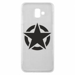 Чохол для Samsung J6 Plus 2018 Зірка Капітана Америки