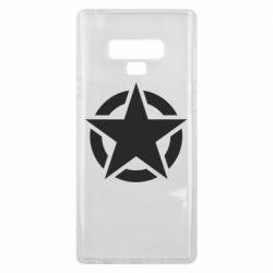 Чохол для Samsung Note 9 Зірка Капітана Америки