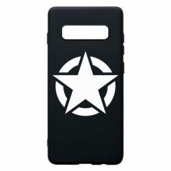 Чохол для Samsung S10+ Зірка Капітана Америки