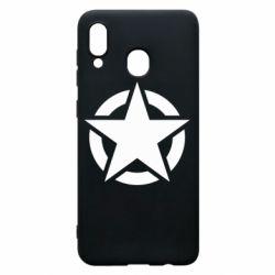 Чохол для Samsung A30 Зірка Капітана Америки