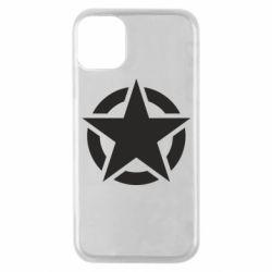 Чохол для iPhone 11 Pro Зірка Капітана Америки