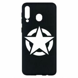 Чохол для Samsung M30 Зірка Капітана Америки