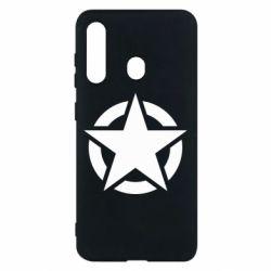 Чохол для Samsung M40 Зірка Капітана Америки
