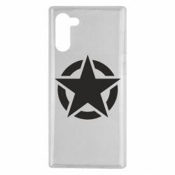 Чохол для Samsung Note 10 Зірка Капітана Америки