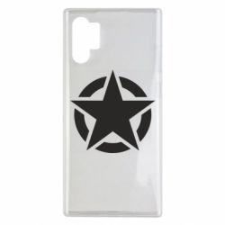 Чохол для Samsung Note 10 Plus Зірка Капітана Америки