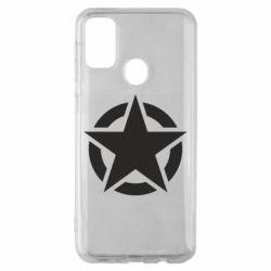 Чохол для Samsung M30s Зірка Капітана Америки