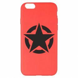 Чохол для iPhone 6 Plus/6S Plus Зірка Капітана Америки