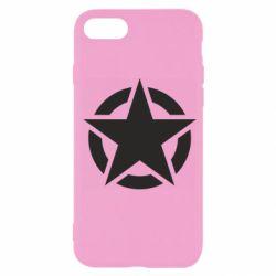 Чохол для iPhone 7 Зірка Капітана Америки