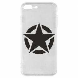 Чохол для iPhone 7 Plus Зірка Капітана Америки