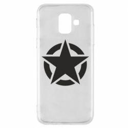 Чохол для Samsung A6 2018 Зірка Капітана Америки