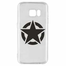 Чохол для Samsung S7 Зірка Капітана Америки