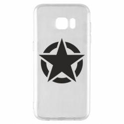 Чохол для Samsung S7 EDGE Зірка Капітана Америки