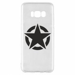 Чохол для Samsung S8 Зірка Капітана Америки